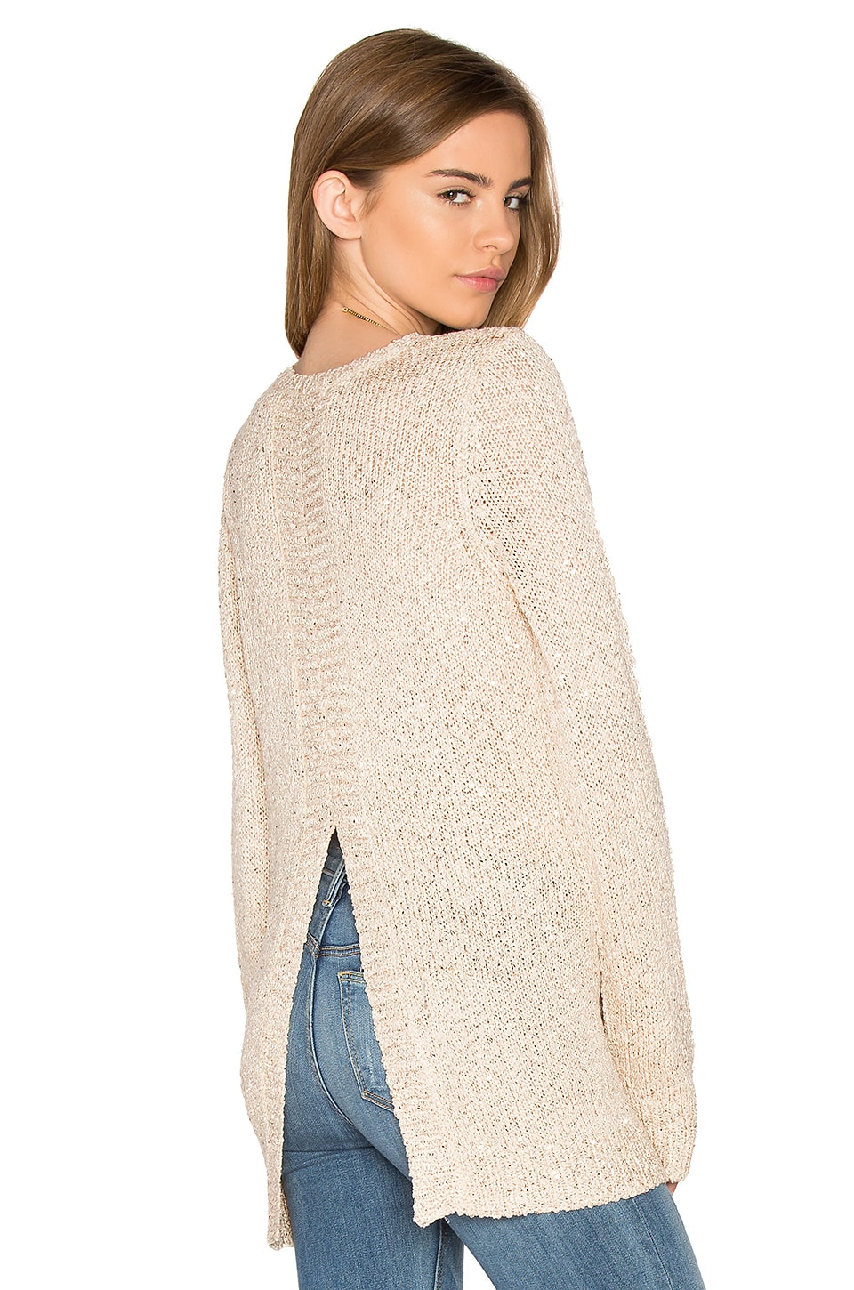 BB Dakota Jack By BB Dakota Warrane Sweater in Champagne