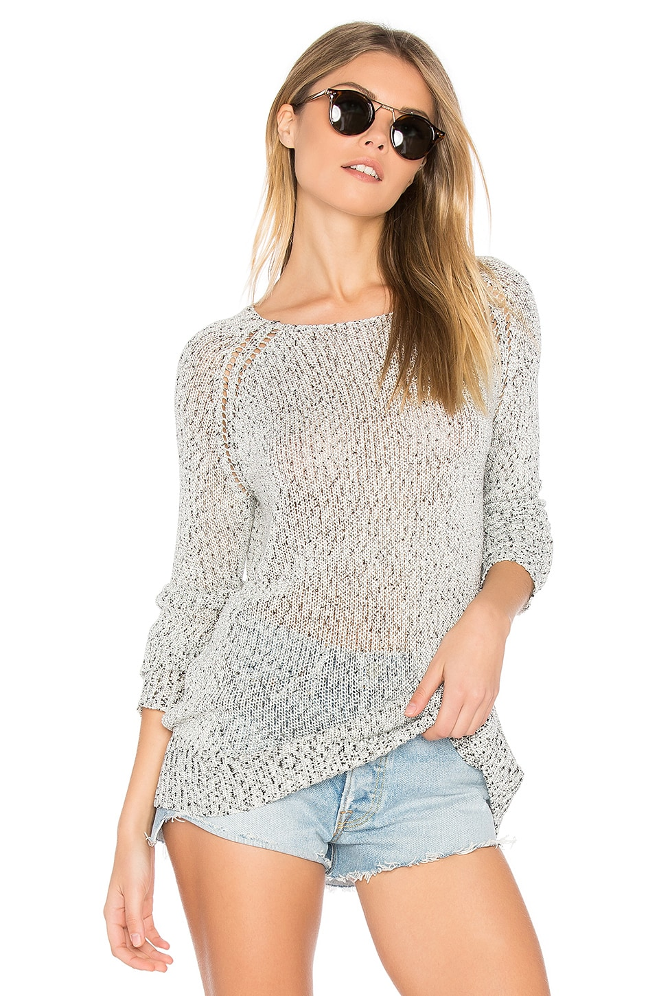 BB Dakota Cait Sweater in Grey