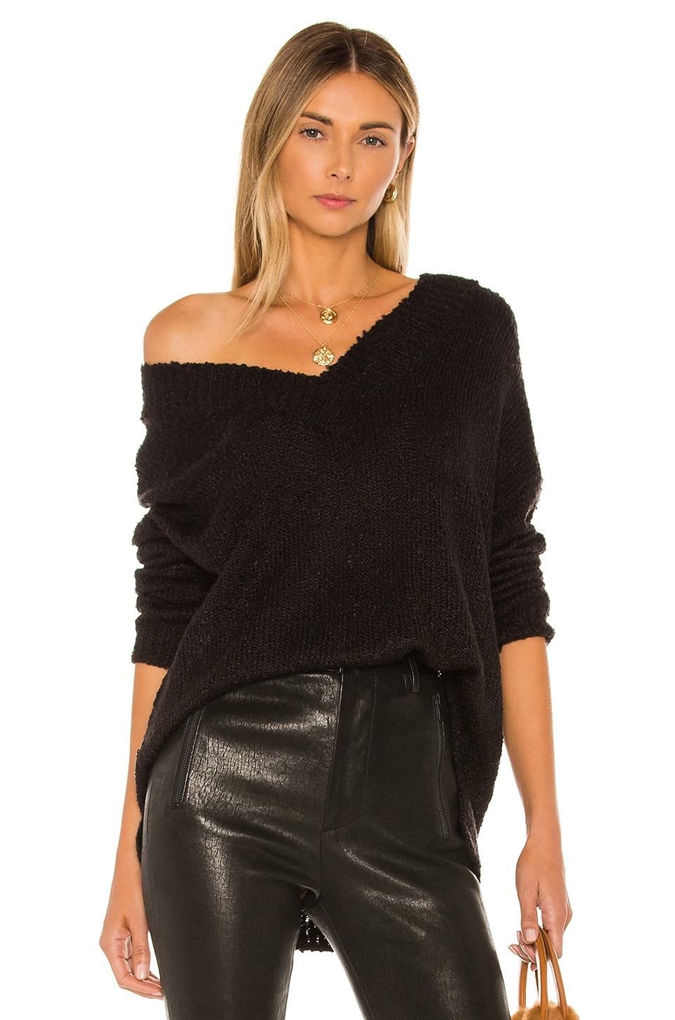 BB Dakota Jack By BB Dakota V That Way Sweater in Black