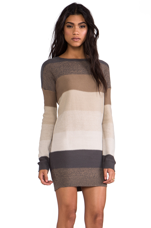 BB Dakota Marilou Pullover Sweater in Dark Khaki