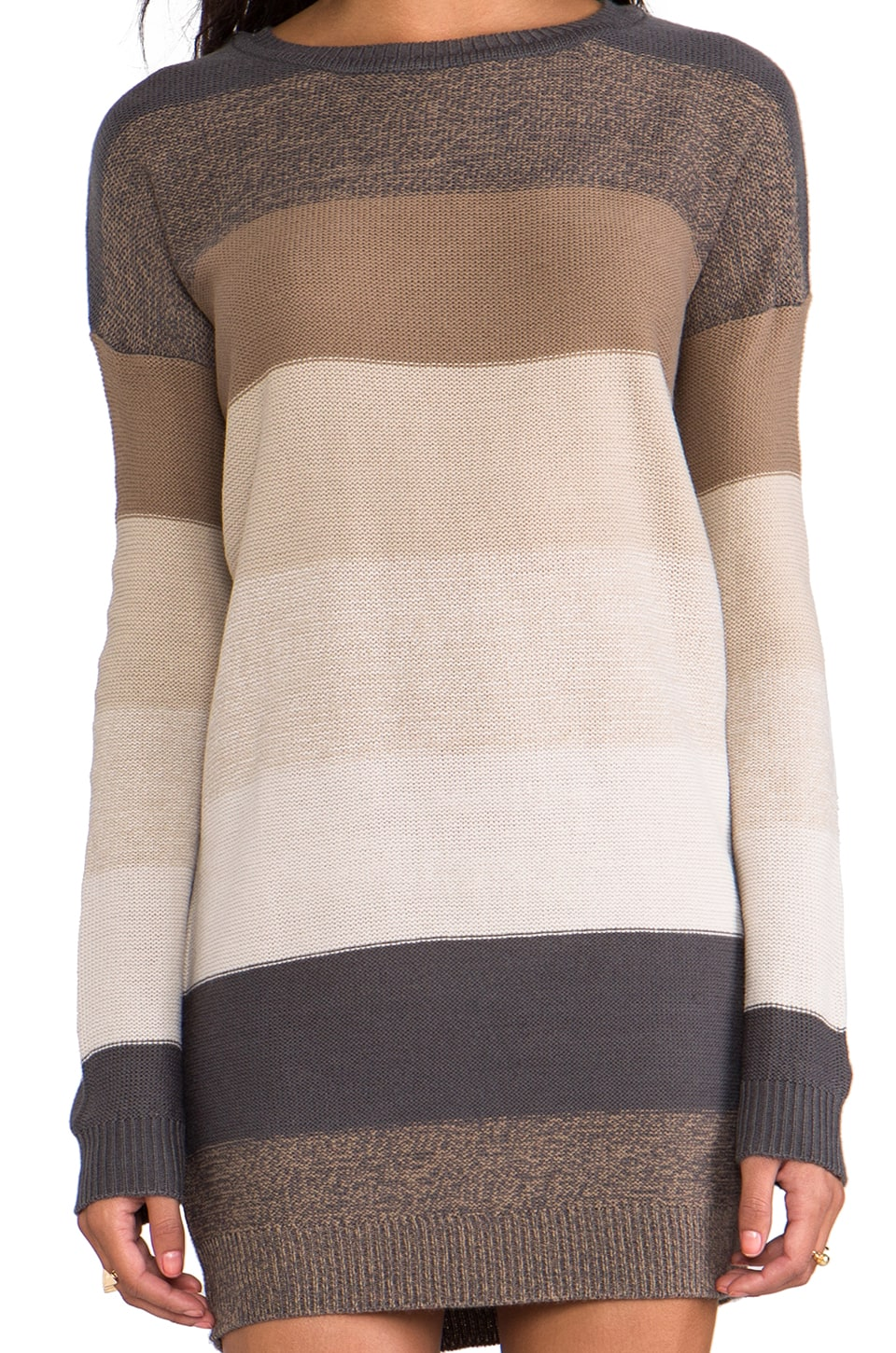 BB Dakota Marilou Pullover Sweater in Dark Khaki