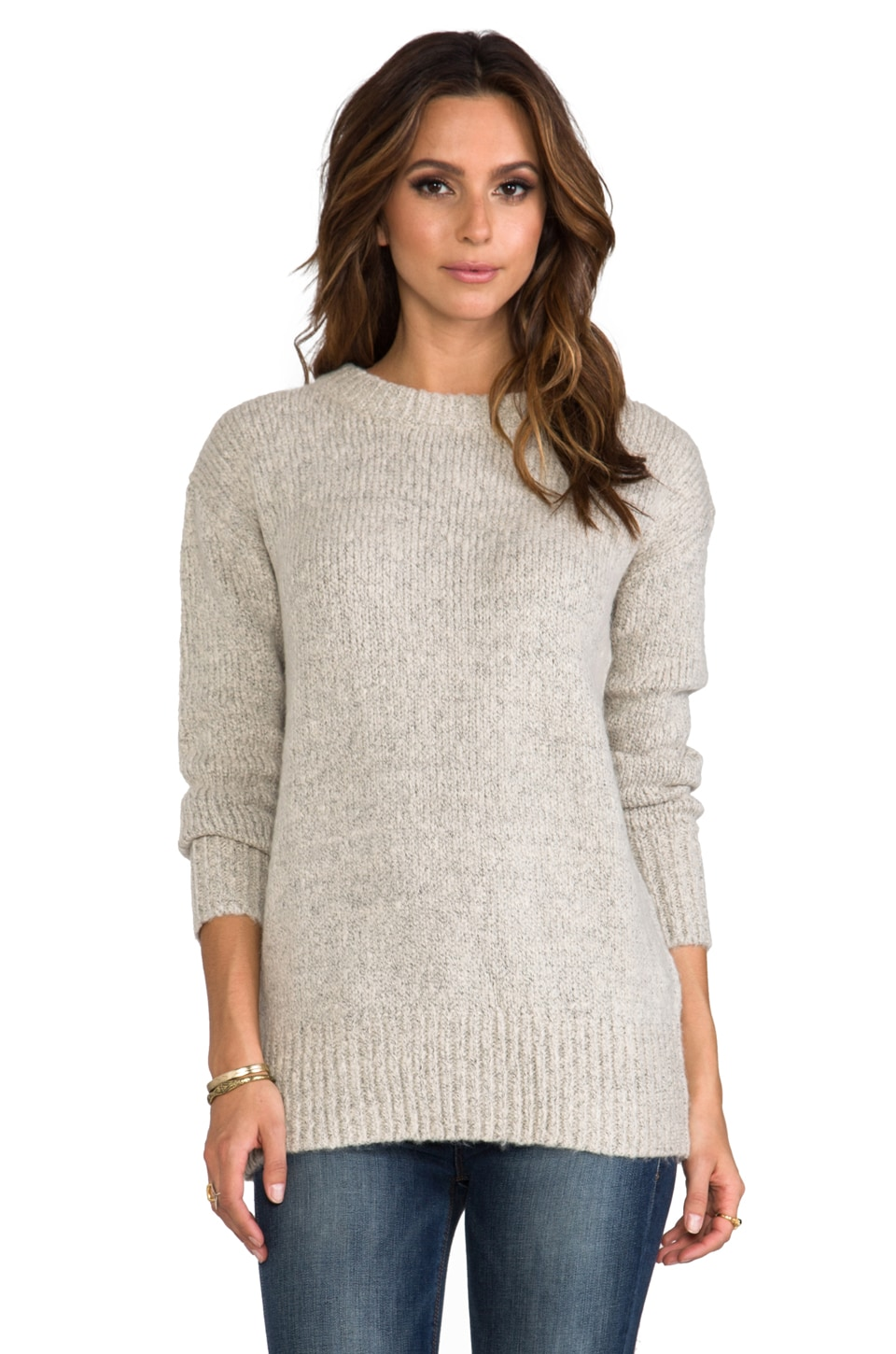 BB Dakota August Over Sized Sweater in Grey