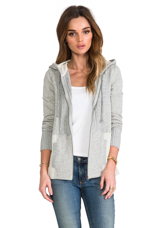 BB Dakota Johnnie French Terry Sweatshirt in Light Heather Grey