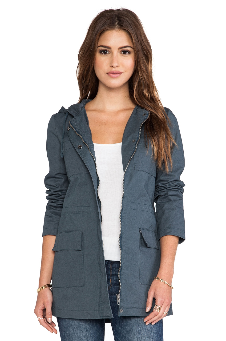BB Dakota Rosen Jacket in Dark Slate