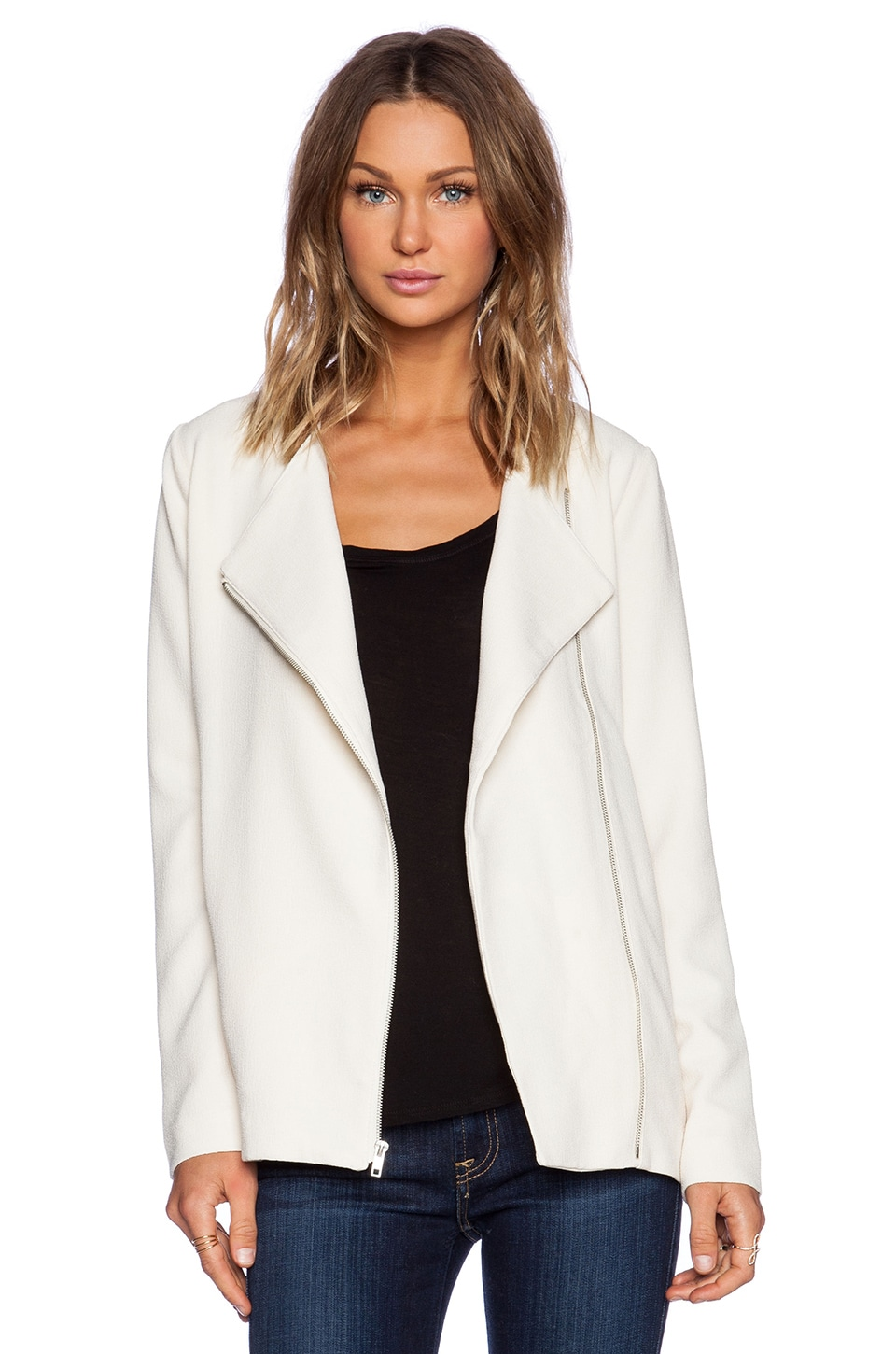 BB Dakota Carlton Jacket in Ivory