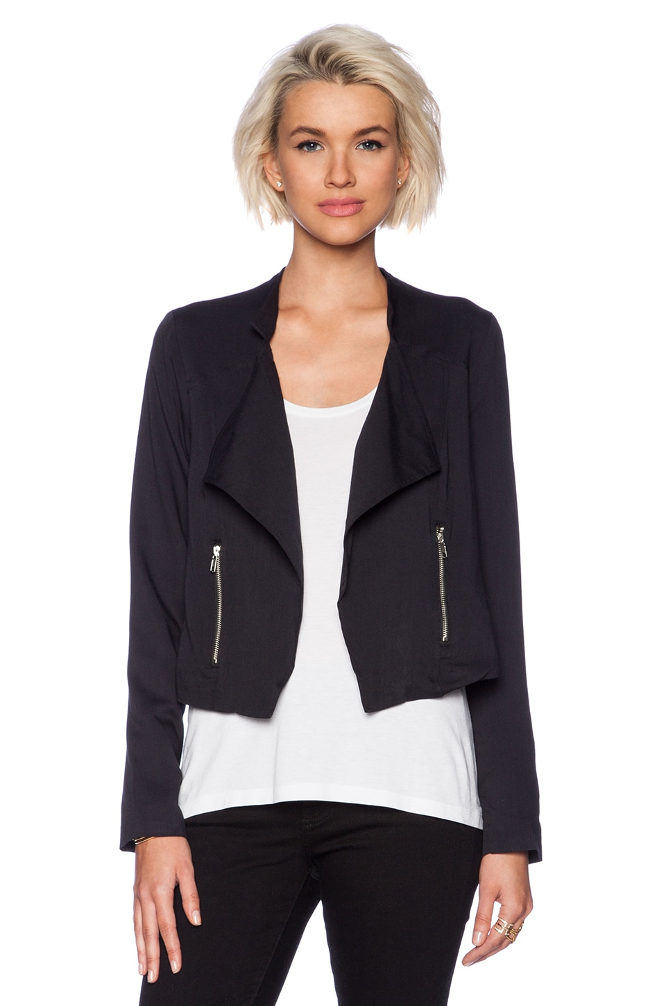 BB Dakota Coyle Blazer in Black