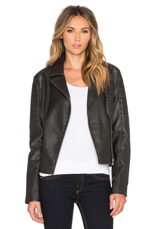 BB Dakota Dorian Moto Jacket in Black