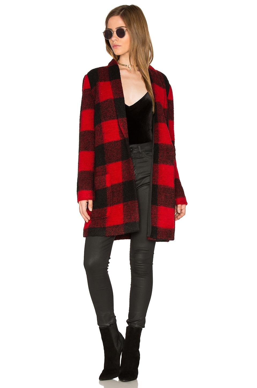 BB Dakota Holton Coat in Red