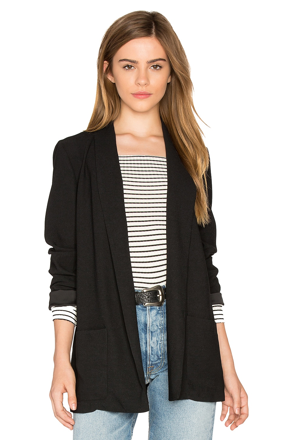 BB Dakota Wright Blazer in Black