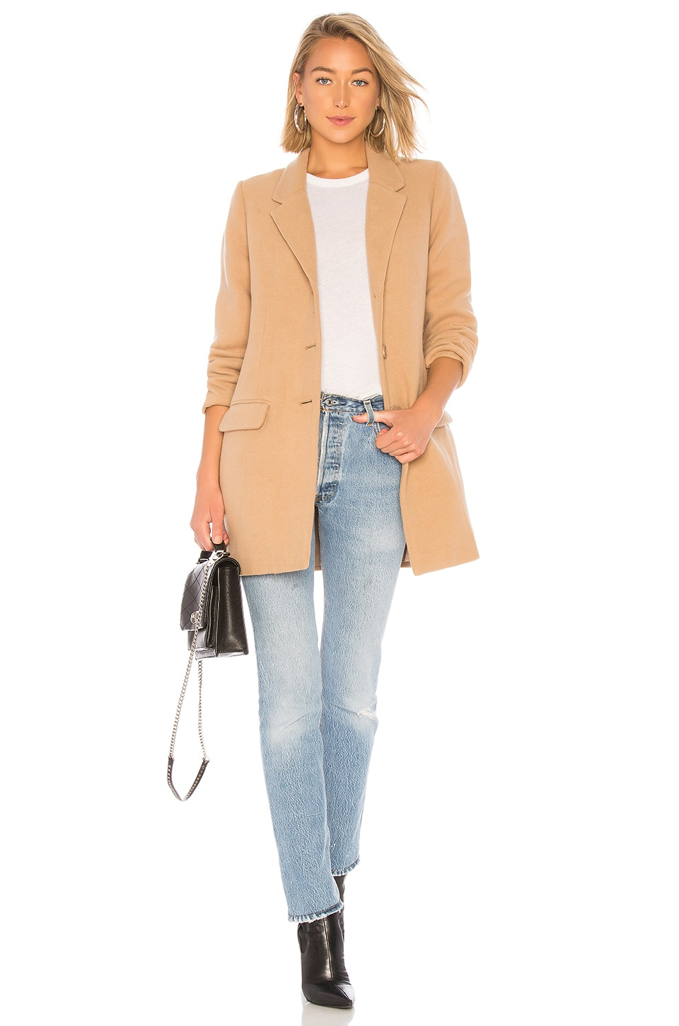 BB Dakota Whiskey Business Coat in Camel