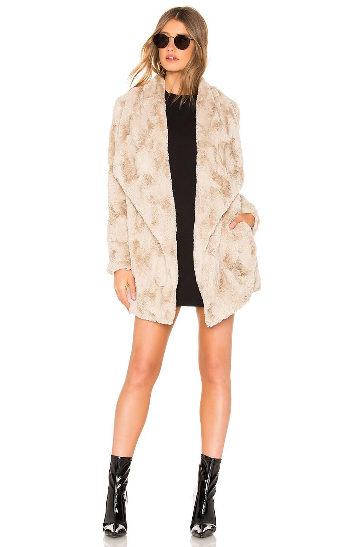 BB Dakota JACK by BB Dakota Warm Thoughts Faux Fur Jacket in Oatmeal