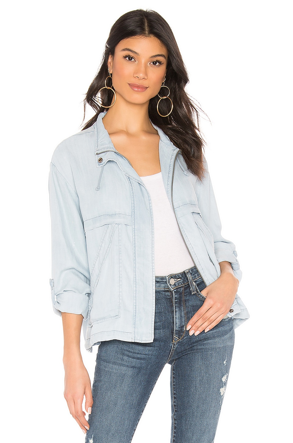 BB Dakota On The Go Jacket in Chambray