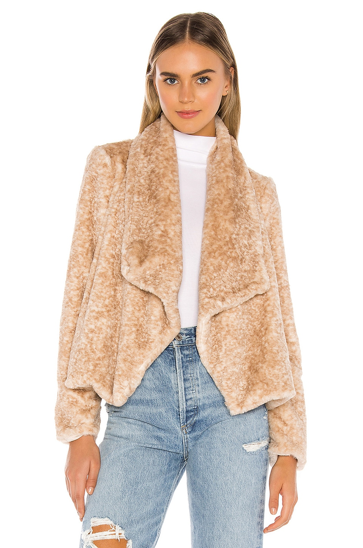 BB Dakota Jack By BB Dakota All Fur You Faux Fur Jacket in Natural