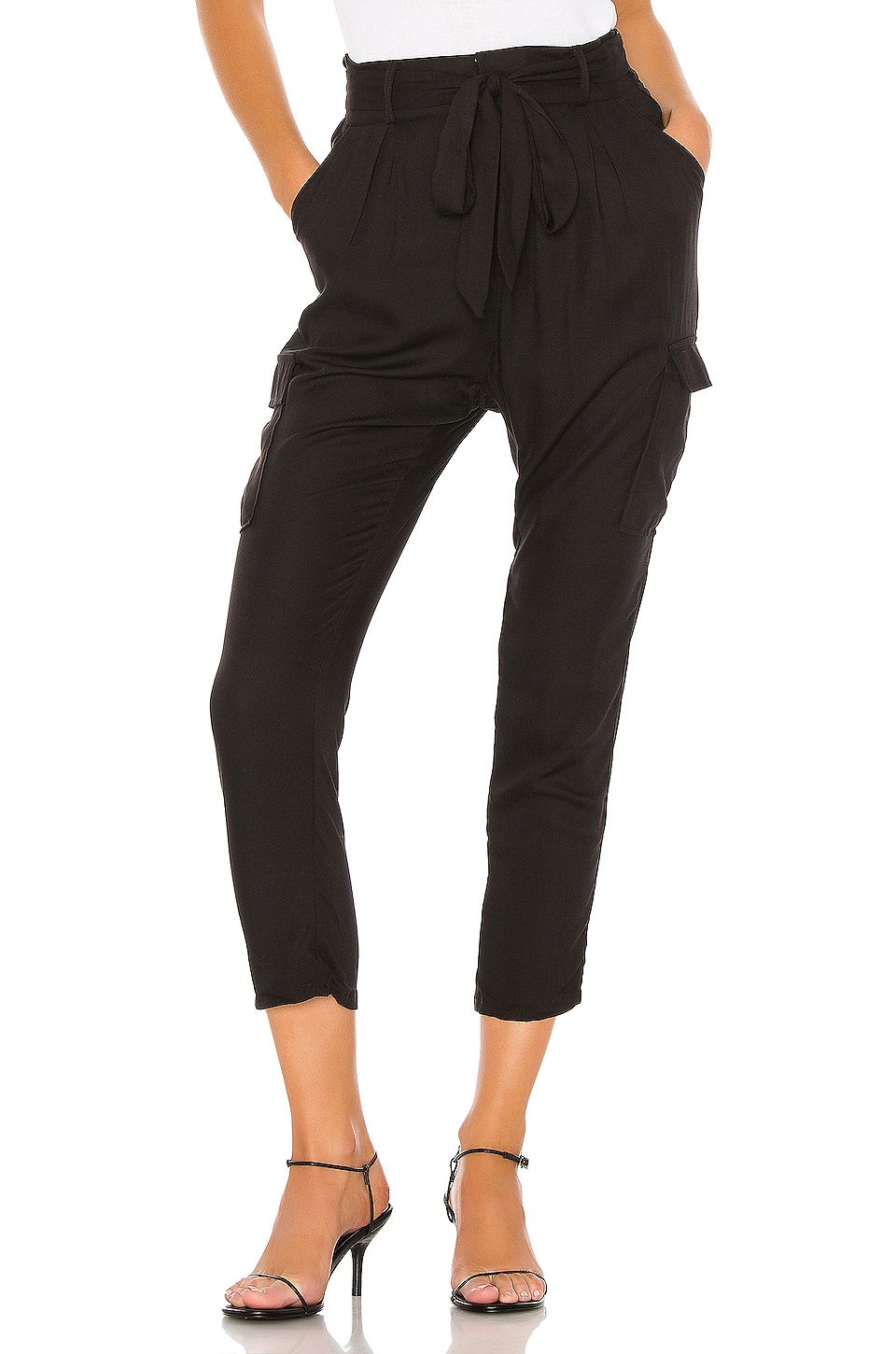 BB Dakota Precious Cargo Pant in Black