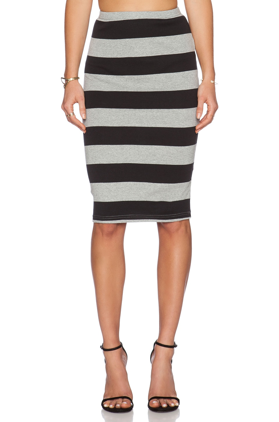 BB Dakota Phinley Pencil Skirt in Black