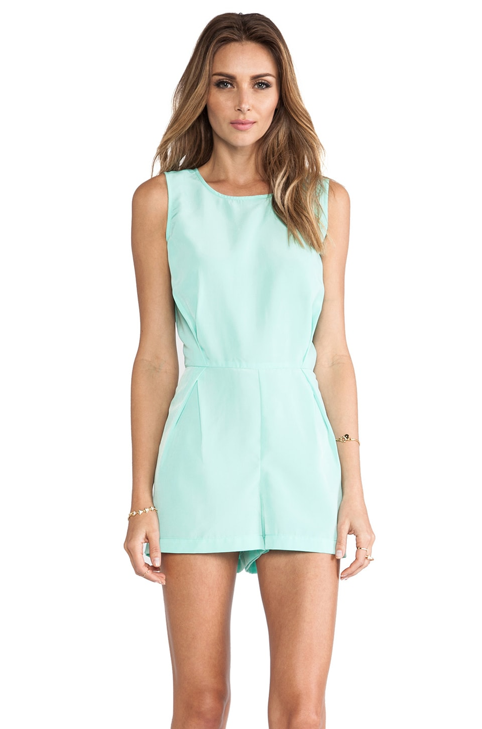 BB Dakota Ester Romper in Cabbage