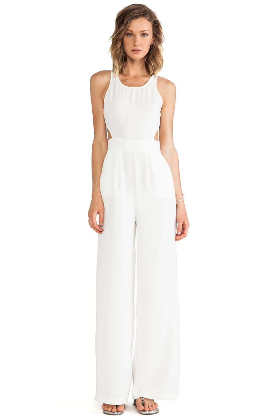 BB Dakota Manele Jumpsuit in Dirty White