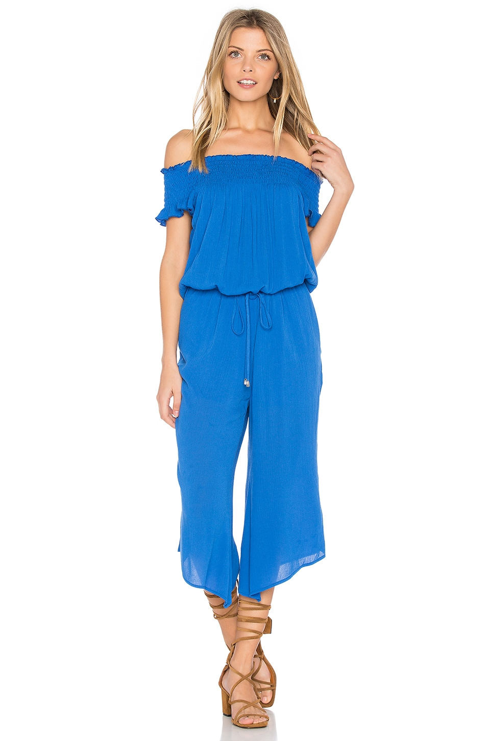 BB Dakota Jack by BB Dakota Otisa Jumpsuit in Cobalt Blue