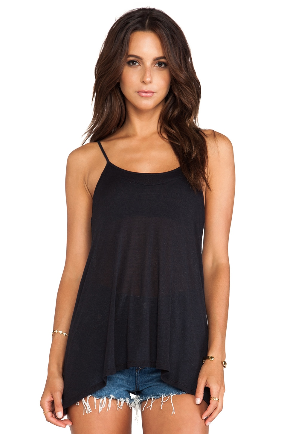 BB Dakota Hailey Tank in Black