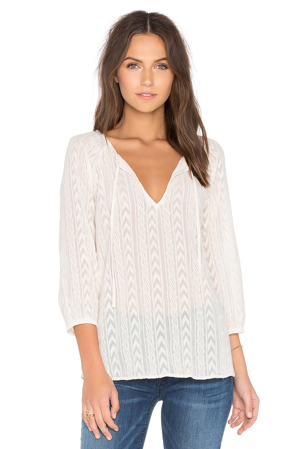 Bb dakota ella top in antique ivory revolve