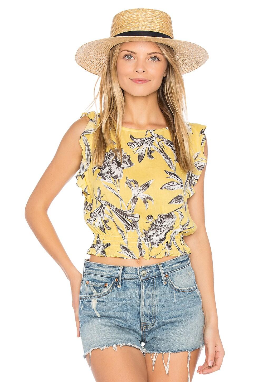 BB Dakota Hallie Top in Yellow