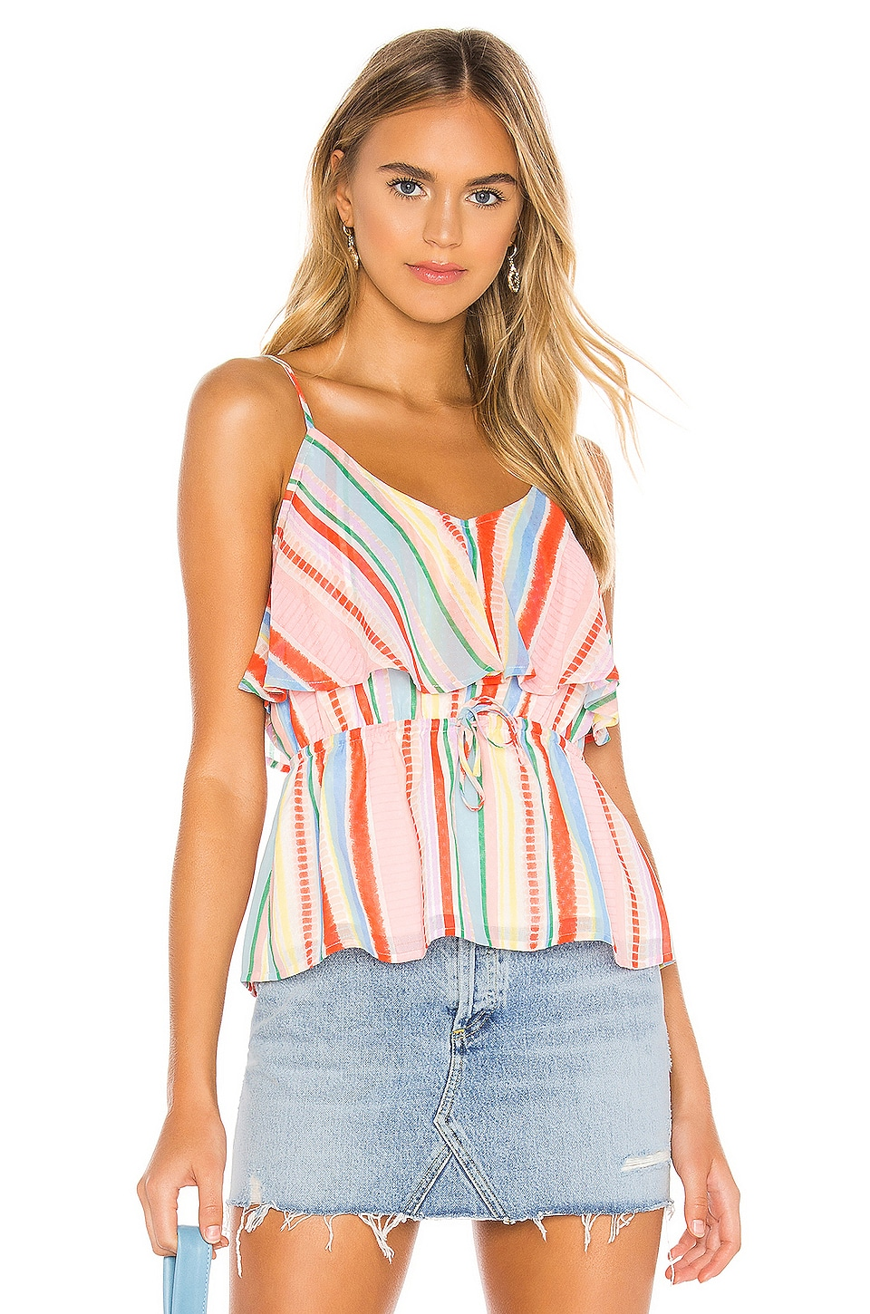 BB Dakota JACK by BB Dakota Pier Walk Tank in Powder Pink