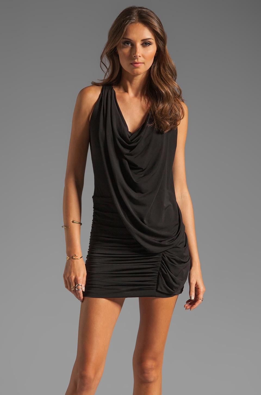 BCBGMAXAZRIA Mini Cocktail Dress in Black