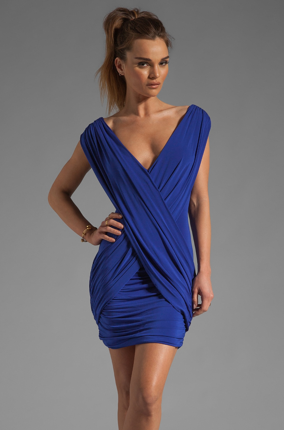 BCBGMAXAZRIA Mini Dress in Royal Blue