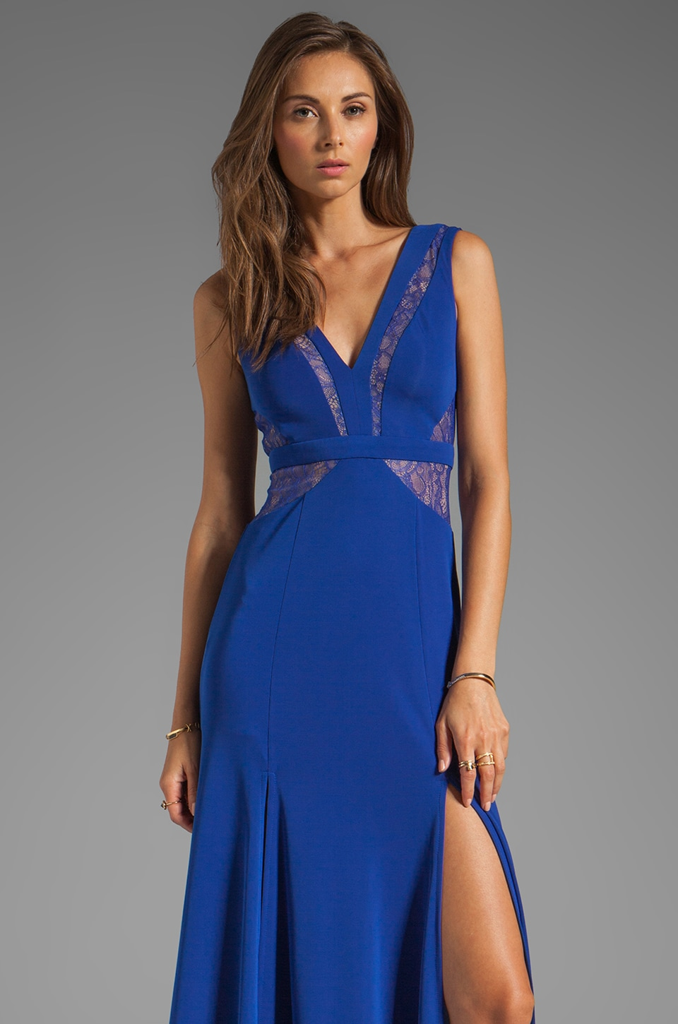 BCBGMAXAZRIA Maxi Gown in Royal Blue