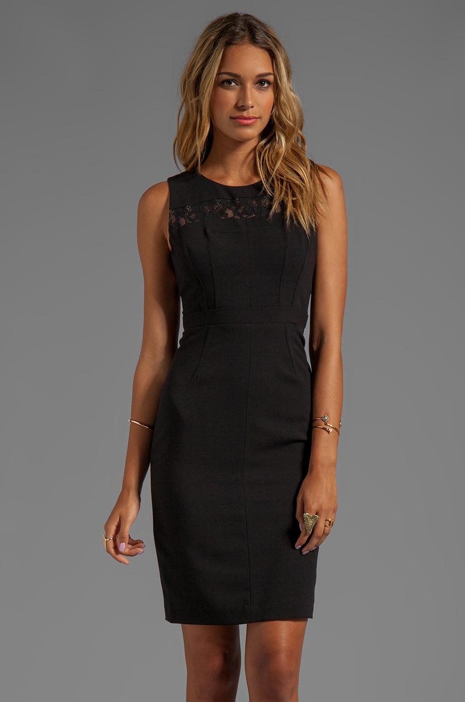 BCBGMAXAZRIA Cut-Out Dress in Black