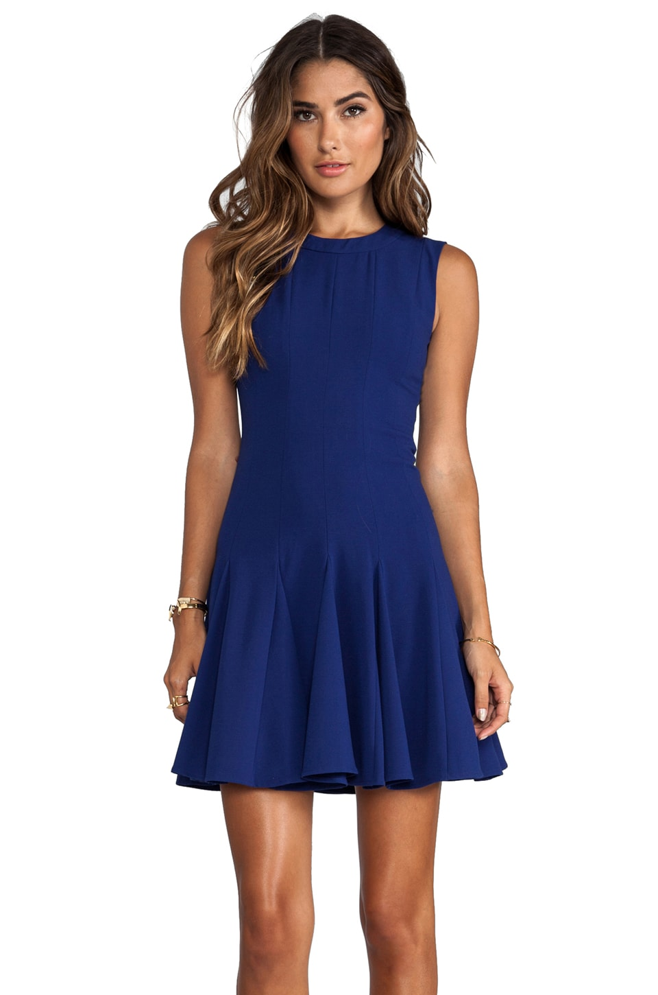 BCBGMAXAZRIA Kalyn Dress in Orient Blue