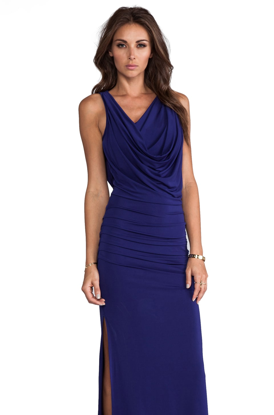 BCBGMAXAZRIA Nicole Dress in Orient Blue