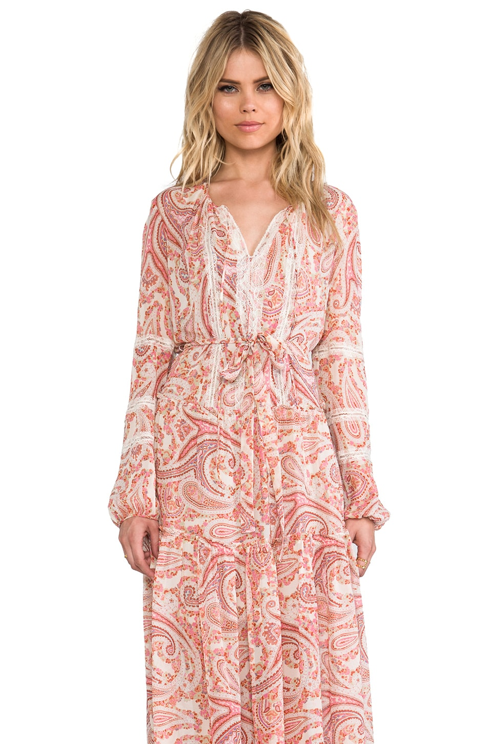 BCBGMAXAZRIA Kati Dress in Pink Multi
