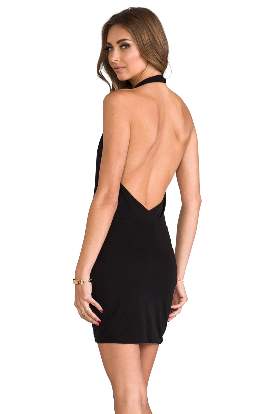 BCBGMAXAZRIA Veda Dress in Black