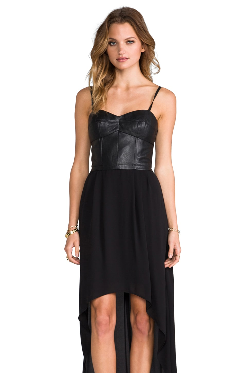 BCBGMAXAZRIA Leandra Dress in Black