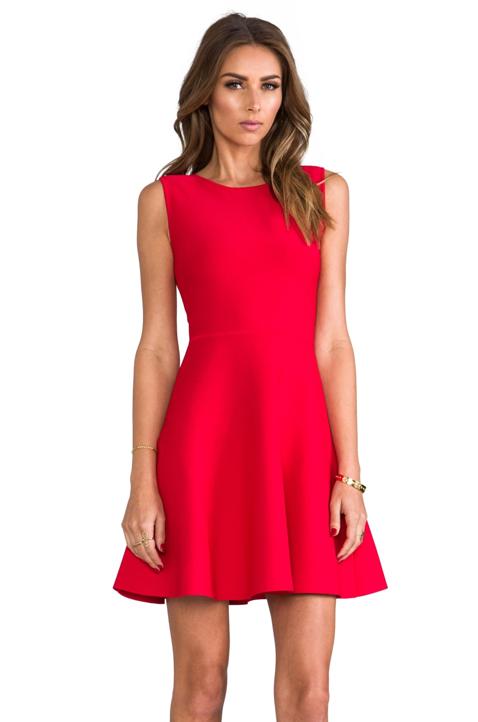 BCBGMAXAZRIA Gali Dress in Poppy