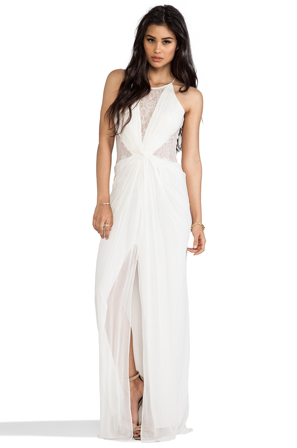 BCBGMAXAZRIA Maxine Dress in Gardenia