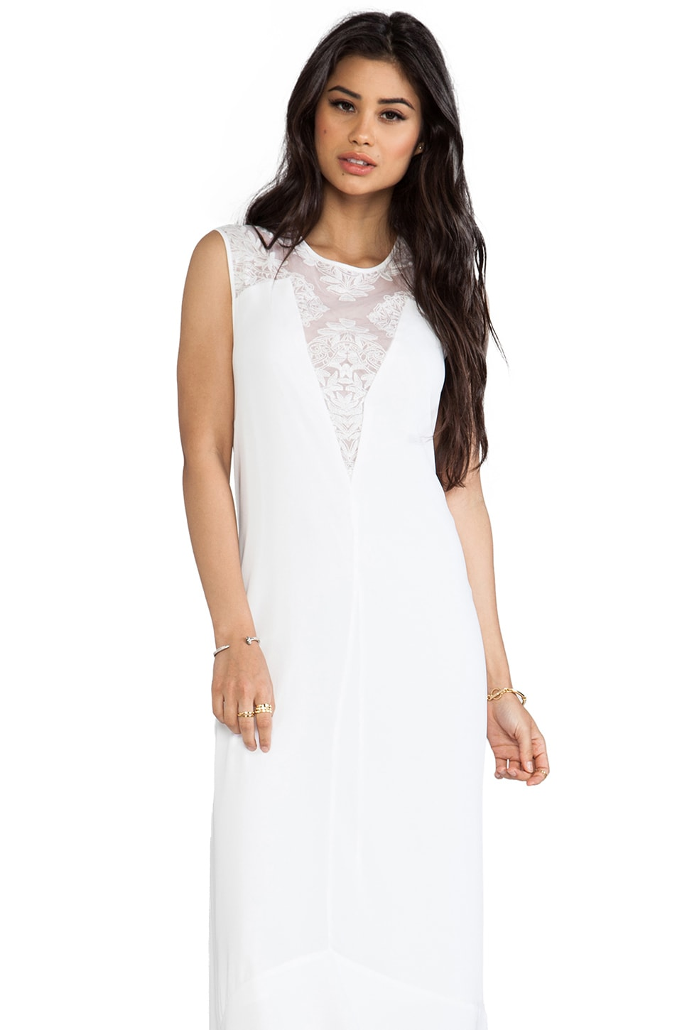 BCBGMAXAZRIA Denisa Dress in White
