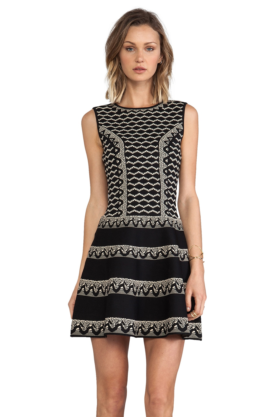 BCBGMAXAZRIA Wilma Dress in Black