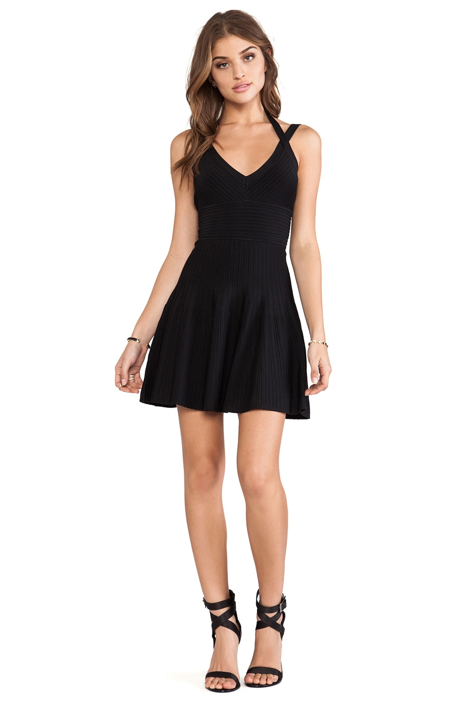 BCBGMAXAZRIA Elizabeth Dress in Black