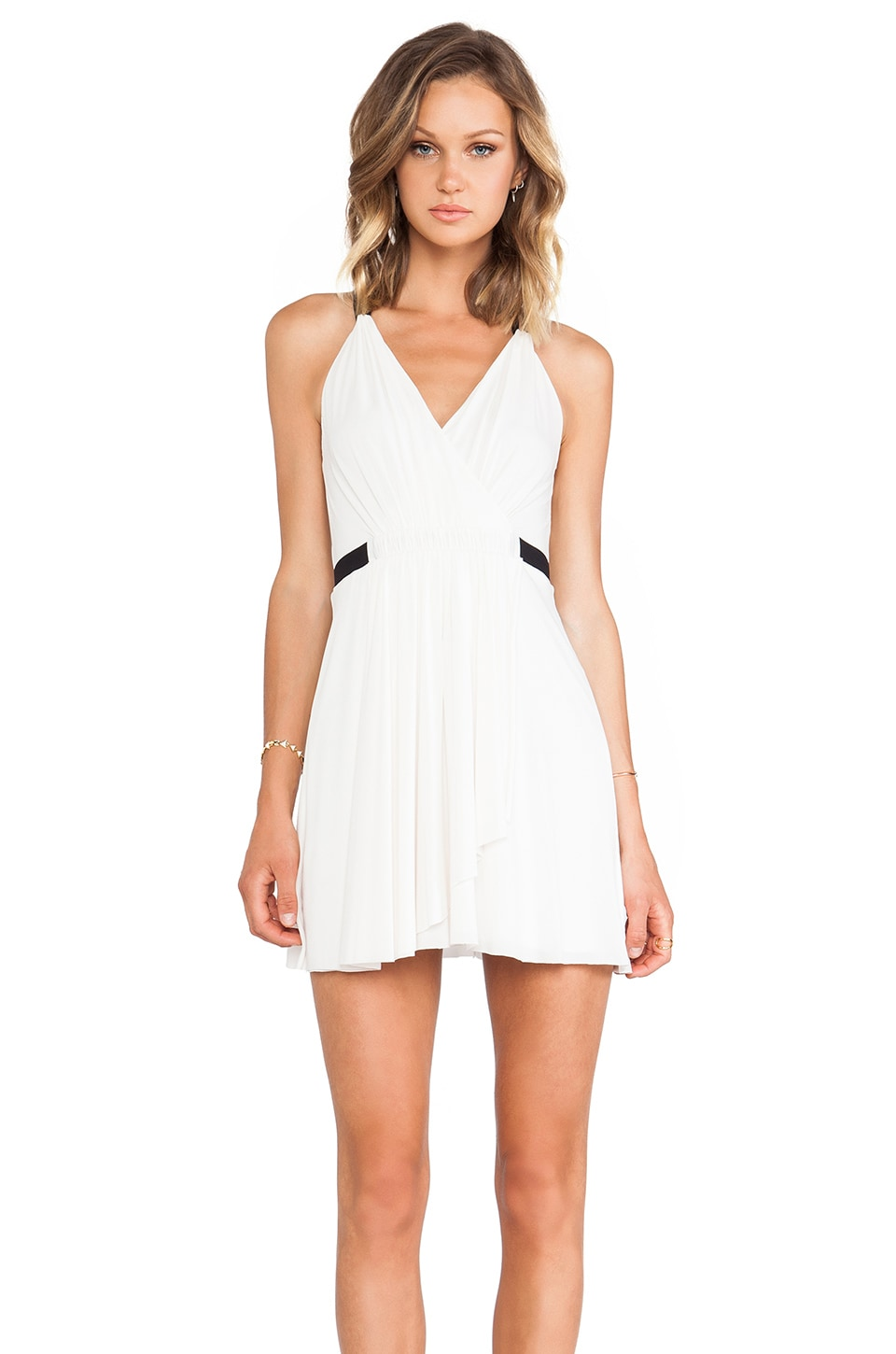 BCBGMAXAZRIA Saige Dress in Gardenia Combo