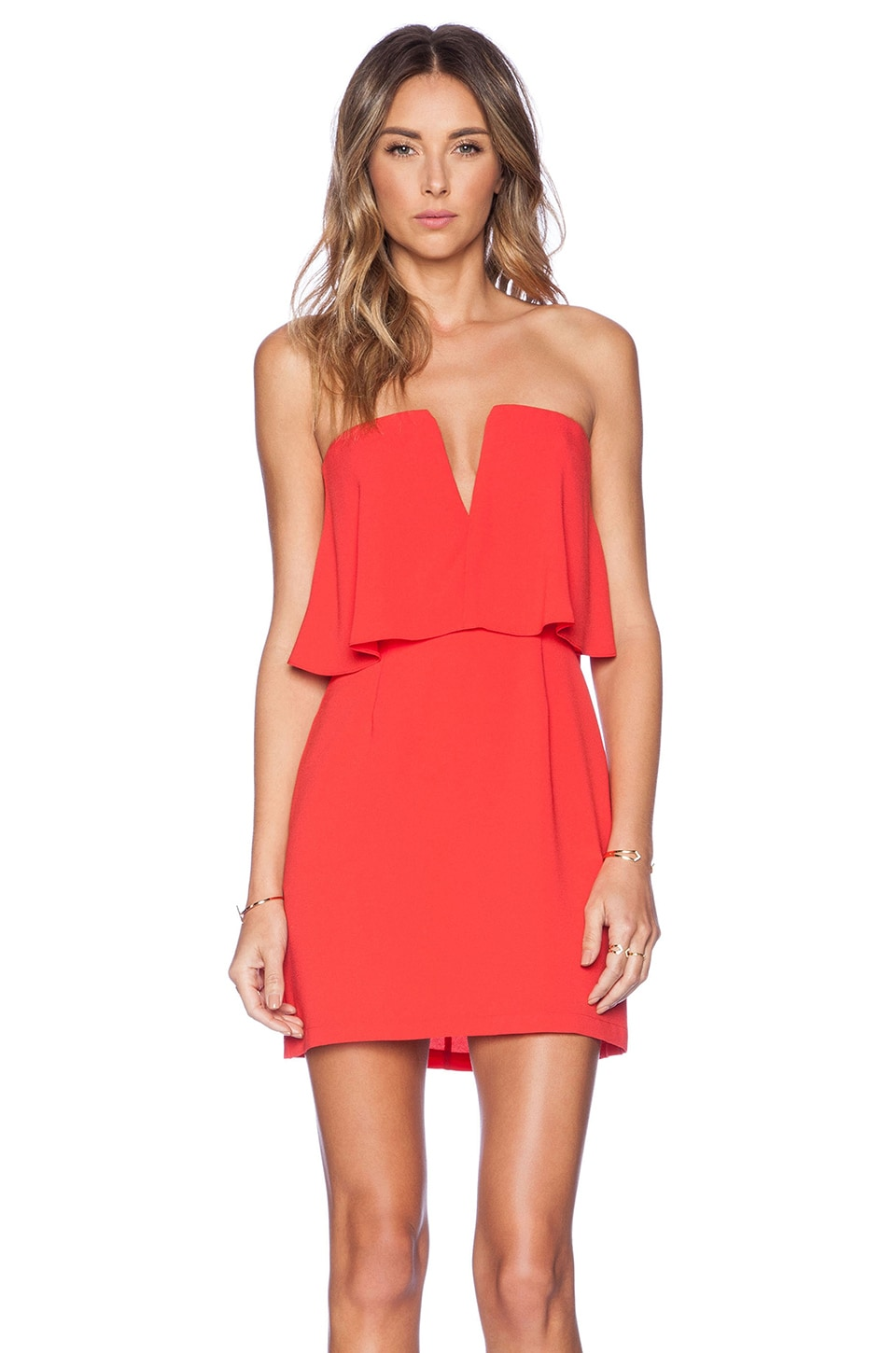 BCBGMAXAZRIA Kate Dress in Red Berry | REVOLVE