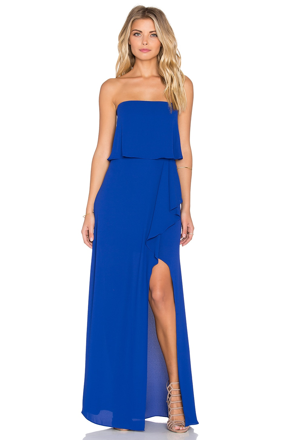 BCBGMAXAZRIA Felicity Gown in Royal Blue