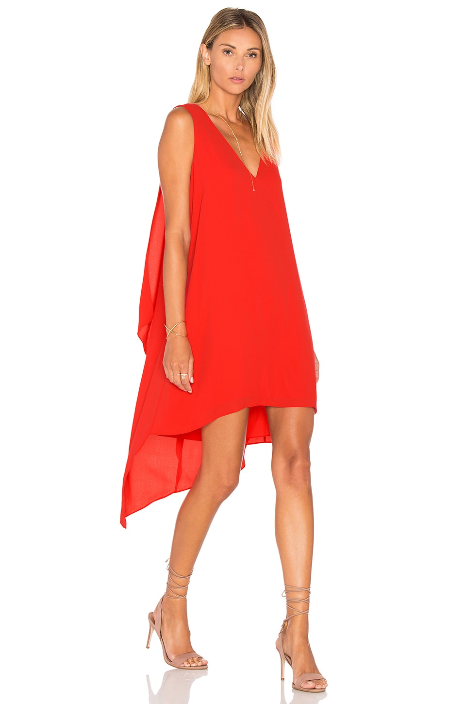 Bcbg dress red berry