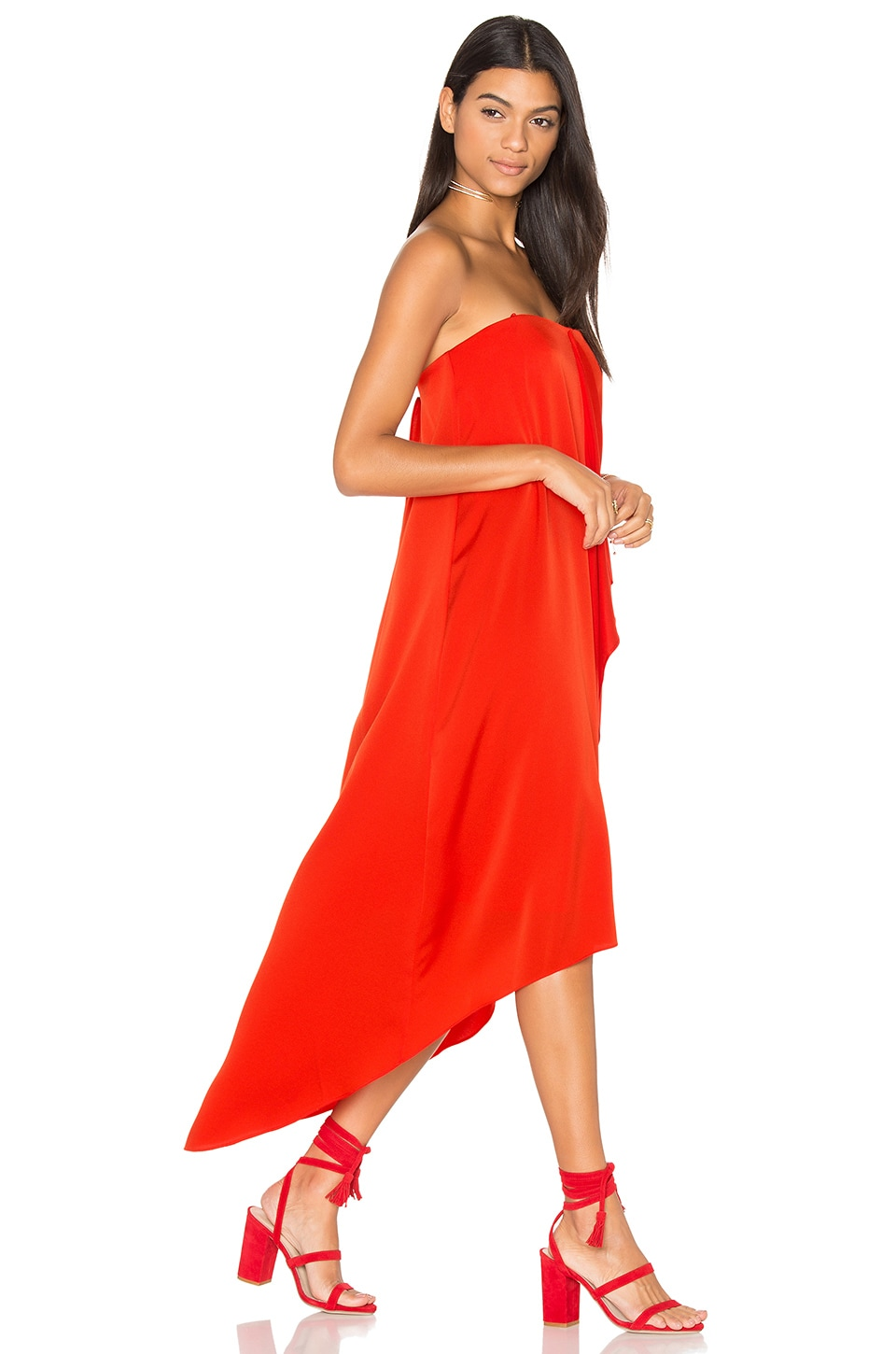 Livvy Hi Low Dress by BCBGMAXAZRIA