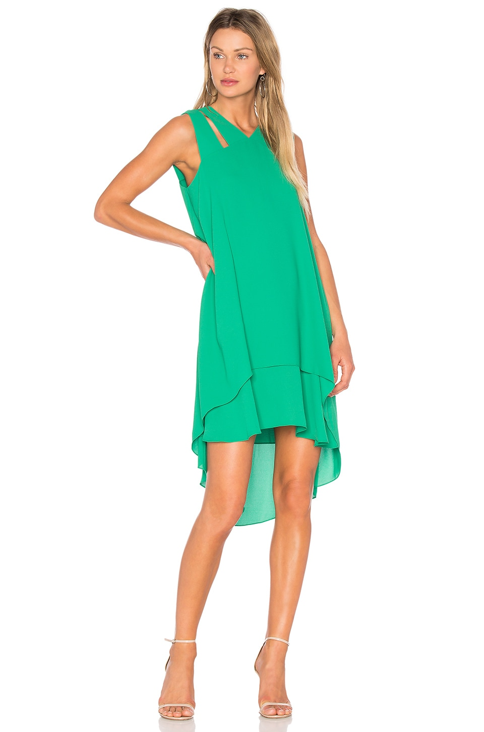 BCBGMAXAZRIA Kristi Dress in Light Kelly Green | REVOLVE