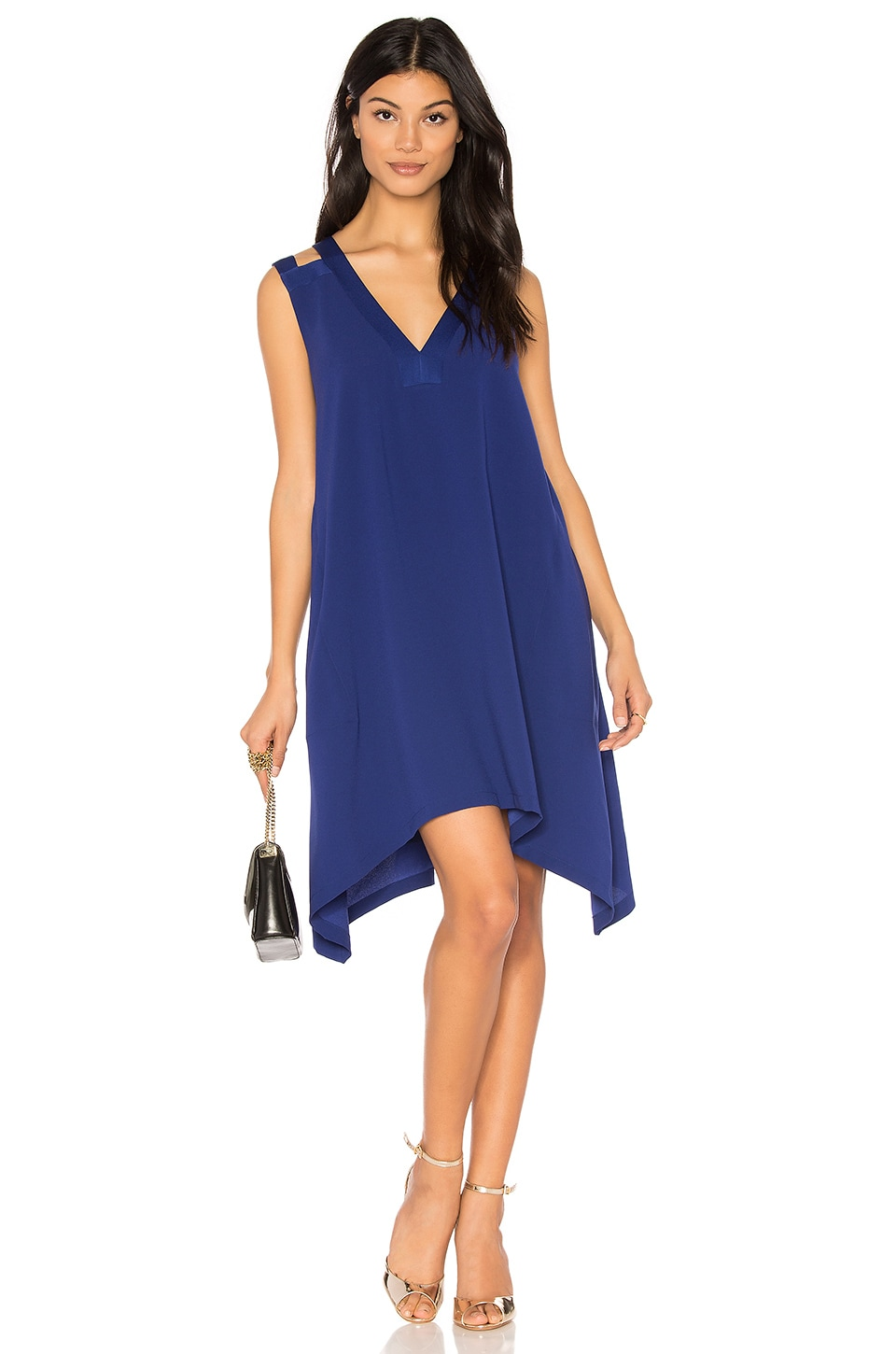 BCBGMAXAZRIA Michele Dress in Deep Royal Blue