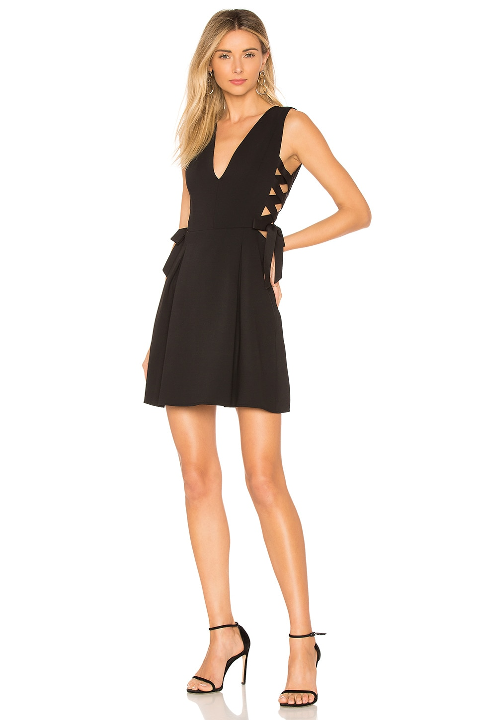Kalie A Line Dress With Sid by BCBGMAXAZRIA