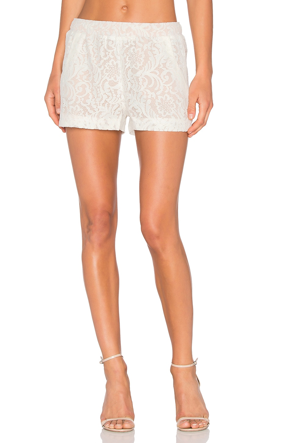 BCBGMAXAZRIA Lilli Short in Off White