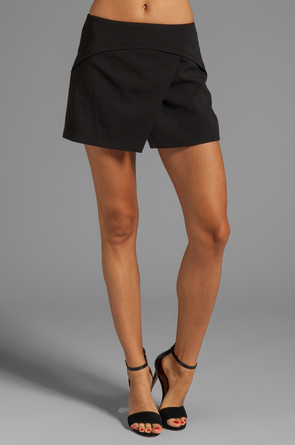 BCBGMAXAZRIA Jogging Shorts in Black